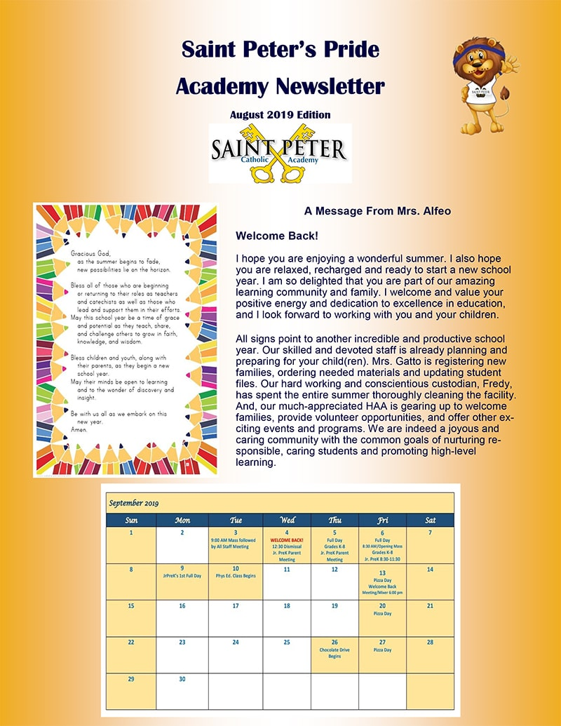 august 2019 newsletter page 1